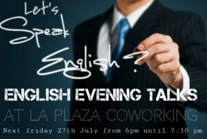 ENGLISH EVENINGS TALKS